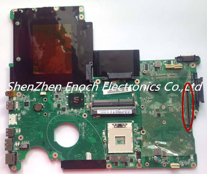 A000053720 For Toshiba Satellite X500 X505 P500 Laptop font b Motherboard b font HM55 NON Integrated