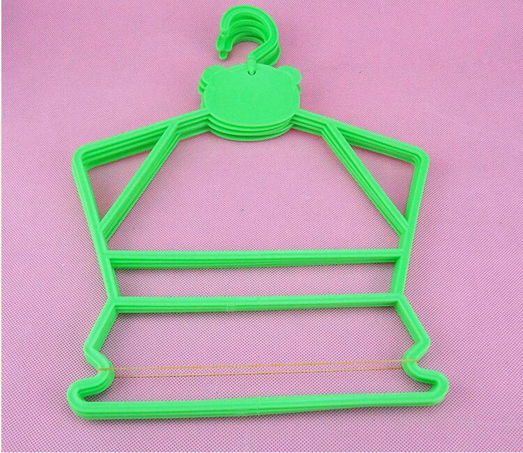 30 unids / lote percha de plástico para niños perchas combinadas - Organización y almacenamiento en la casa - foto 2
