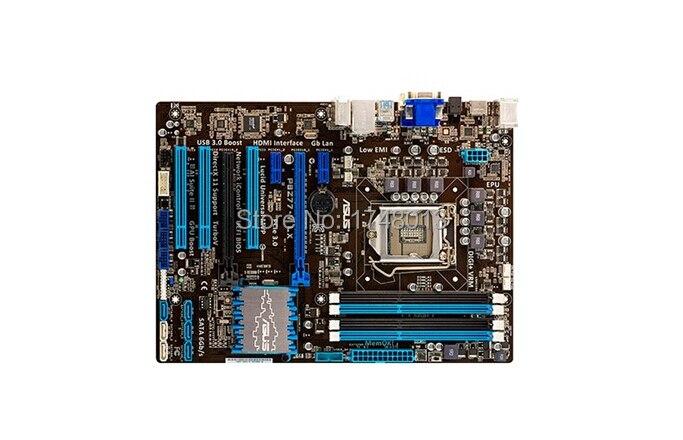 Livraison gratuite origine carte mère pour P8Z77-V LX DDR3 LGA 1155 Soutien I3 I5 I7 32 GB Z77 Bureau motherborad