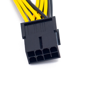 Image 4 - PCI EXPRESS の PCIE 8 ピンデュアル 8 (6 + 2) ピン VGA グラフィックビデオカードアダプタ電源ケーブル 20 センチ