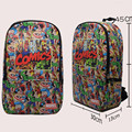 The Avengers Star Wars School Bag Cartoon Drawstring Backpacks For Bags Beach Travel Backpack