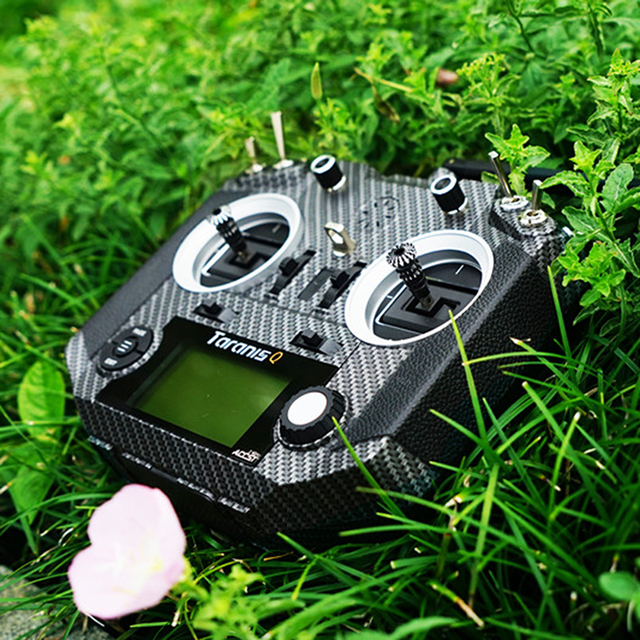 Frsky 2.4G 16CH ACCST Taranis Q X7S Transmitter Remoter Control TX Mode 2 M7 Gimbal Wireless Trainer Free Link App Bag for Drone