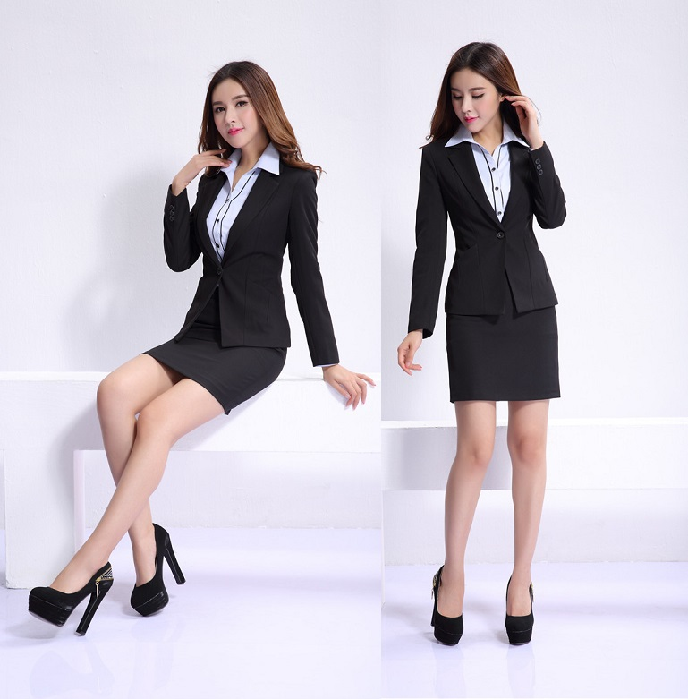 Image Gallery Office Mini Skirt