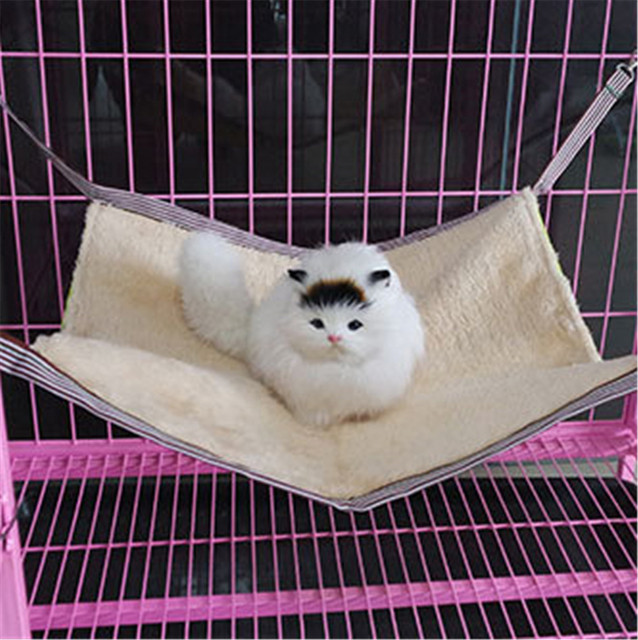 cat cage hammock spring and autumn cage hammock for cats plush pet hanging bed cat bed cat cage hammock spring and autumn cage hammock for cats plush pet      rh   aliexpress