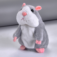 Buy Enjoybay Cute Talking Hamster Plush Toys Electronic Speak Pets Talk Sound Record Repeat Plush Toy Funny Educational Toy for Kids directly from merchant!