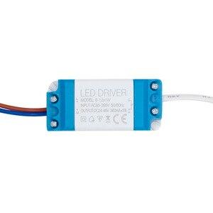 Image 5 - 1w 36w leds driver com 5.5*2.1mm fêmea conector fonte de alimentação corrente constante 300ma iluminação transformadores para led luz tira