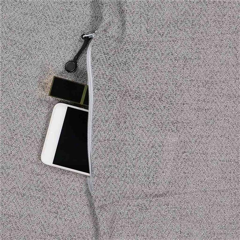 Unisex Winter Solid Wool Warm Loop Scarf Zippered Secret Pocket Shawl Ring Women Printing Scarf Bufanda de las mujeres R29 (10)