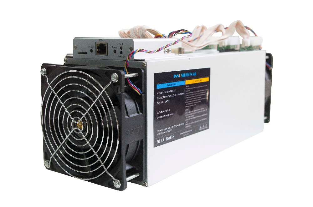 Used Innosilicon A9 ZMaster 50k Sol/s With PSU Equihash Asic Zcash ZCL ZEC BTG Miner  Better Than Antminer Z9 Z9 Mini S9 S11 S15