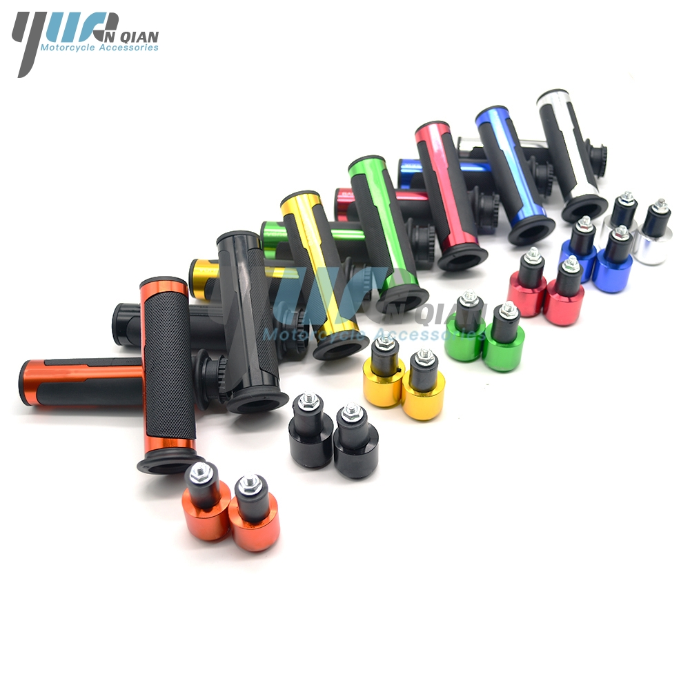 YUANQIAN 7/8 22mm Handlebar Sport Bike Motorcycle Rubber Hand Grips For TRIUMPH TIGER 800 1050 1200 Sport Explorer XC XCX XR XRX for triumph tiger 800 tiger 1050 tiger explorer 1200 easy pull clutch cable system