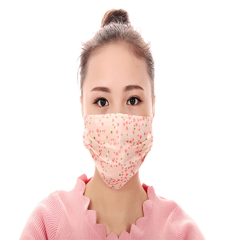100pcs/Pack Biker Fashionable Face Masks Fashion Mouth Maska Mouth Sports Mask  Ski Face Anti Dust Fashionable Face
