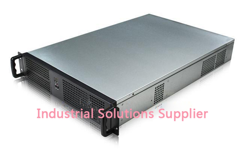 266F 2U-66CM Server Computer Case New new 2u industrial computer case 2u server computer case 6 hard drive 2 optical drive 550 large panel high