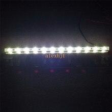 July King Universal 12W LED Reversing Assist Lamp, 12 LEDs 840ML License Plate lights, Size: L260mm * W50mm * T6mm