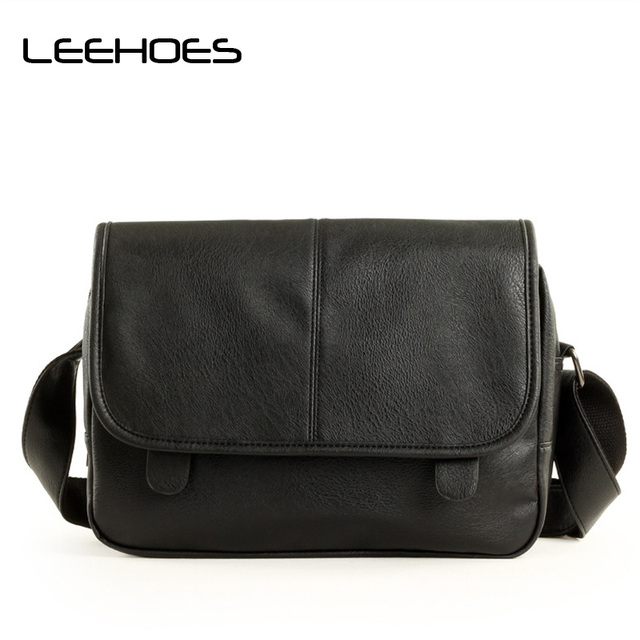 Famous Brand Leather Men Bag Casual Travel Fashion Business Work Bags Mens Messenger Vintage S