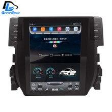 32G ROM Vertical screen android car gps multimedia video radio player in dash for Honda civic 2016 years car navigaton stereo