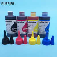 High Quality 4PCS Set 100ML Universal Dye Ink For HP Desktop Inkjet Printer BK C M