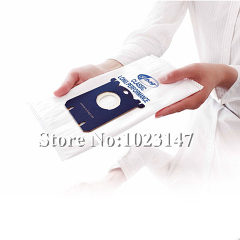7 pieces/lot Vacuum Cleaner Bags Filter Dust Bag s-bag Replacement For Philips FC8200 seriesFC8021 FC9066 FC9060 FC8208 FC8206