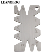 Welding Tools Stainless Steel Screw Thread Cutting Angle Gage Gauge Measuring Tool Welding Inspection Ruler