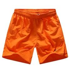 Быстросохнущий шорты мужские шорты повседневные капри мода пляжные шорты высокое качество мужские шорты