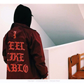 2016 Yeezy Канье Уэст Я Чувствую, Пабло Сезон 3 Heybig Brand Clothing Мужчины Женщины Моды Свет Траншеи Улица Пальто Хип-Хоп Куртки