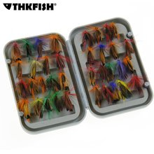 36Pcs Soft Baits Lures Fly fishing Lure With Hooks Butterfly Insects Style Trout File Single Dry Fly Fishing Lure Fishing Tackle