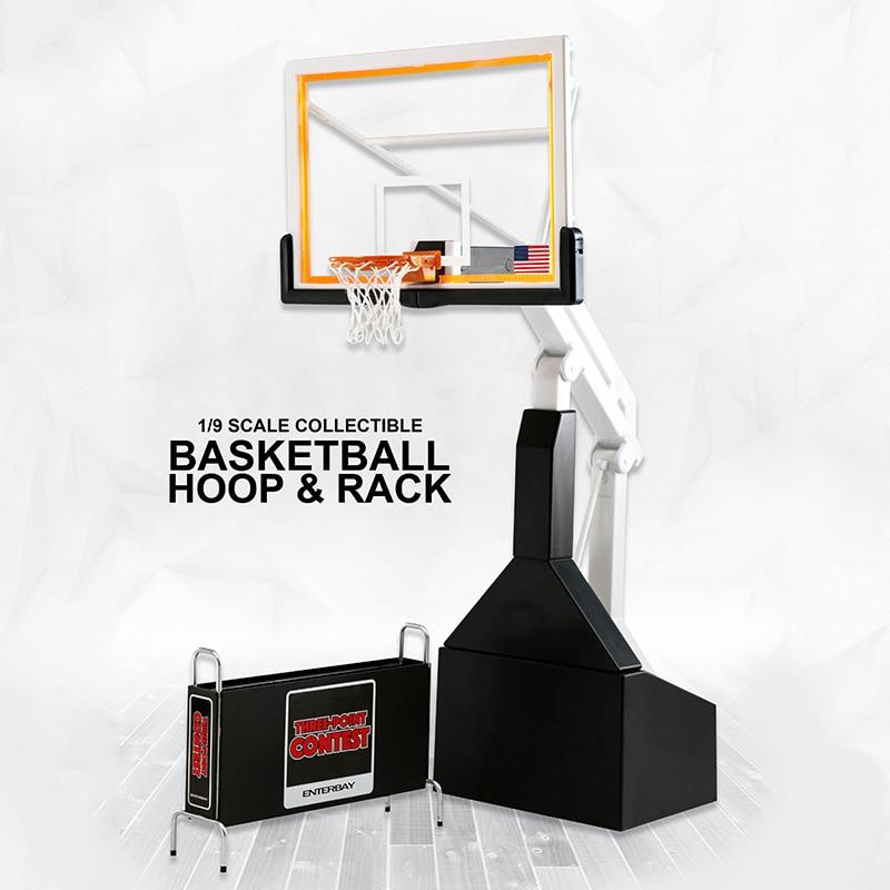 Basketball stands action figure 1/9 NBA Basketball frame For children boys gift Basketball Model Toys Kids Sports Doll все цены