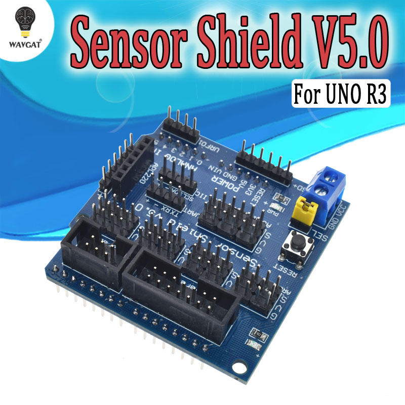 V5.0 Sensor Shield expansion board for arduino electronic building blocks robot accessories Sensor Shield V5 expansion boardV5.0 Sensor Shield expansion board for arduino electronic building blocks robot accessories Sensor Shield V5 expansion board