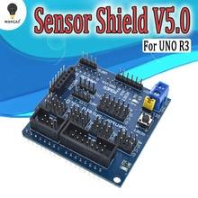V5.0 Sensor Shield expansion board for arduino electronic building blocks robot
