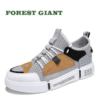 FOREST GIANT Mesh Men Casual Shoes Breathable Summer Men Shoes Comfortable Men Fashion Mesh Shoes Male Shoes 0202