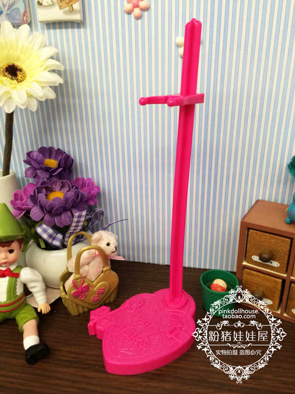 2019 Gratis Pengiriman 4 Buah/Banyak 2 Warna Campuran Boneka Stand Tampilan Pemegang untuk Monster Inc Mainan Boneka