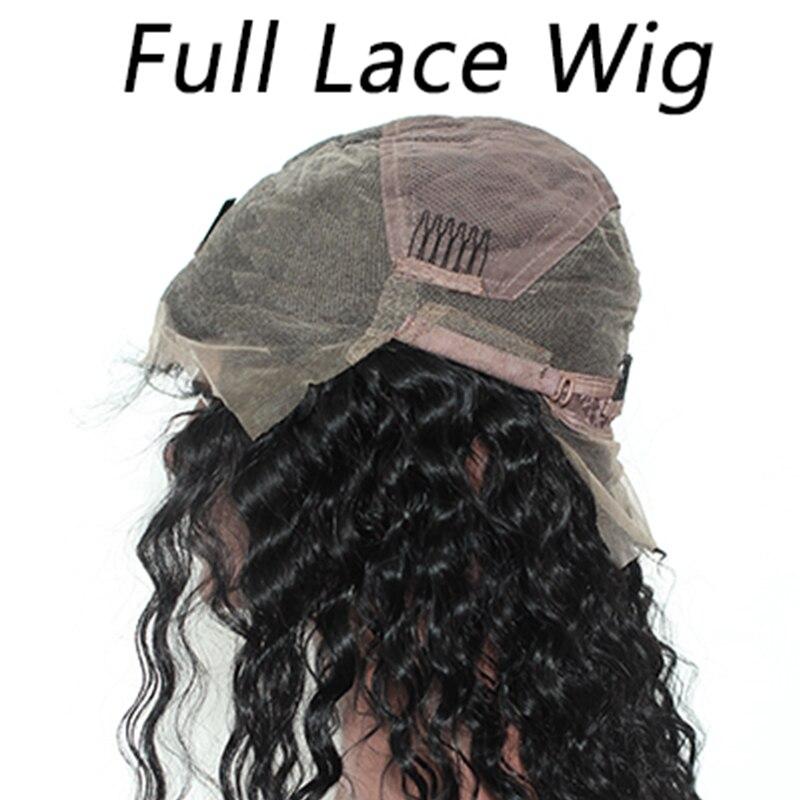 Ever Beauty 13x4 Lace Front Մարդու մազերի wigs - Մարդու մազերը (սև) - Լուսանկար 5