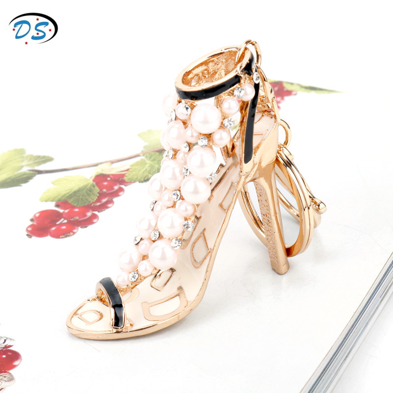 Dongsheng jewelry кошелек аксессуары брелок Сумки брелки обувь на высоком каблуке Кулон брелоки Автомобильный держатель для ключей llaveros