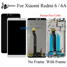 5.4 Inch Voor Xiaomi Redmi 6A Lcd Touch Screen Digitizer Vergadering Vervanging Frame Voor Xiaomi Redmi 6 Global Versie(China)