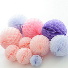 1 PC Honeycomb Ball Decorative Flower Paper Lantern Wedding Birthday Decoration