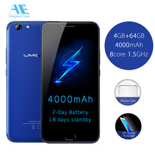 UMIDIGI C NOTE 2 MT6750T Octa-core Cell phone 5.5 Inch 1920x1080P 4000mAh 4G RAM 64G ROM 13MP Fingerprint 4G Mobile Phone