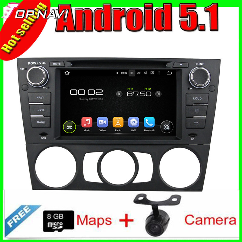 "7"" Quad Core Android 5.1 Car GPS For  E90 Saloon 2005-2012/E91 Touring 2005-2012/E92 Coupe 2005-2012/E93 Cabriolet 2005-2012"