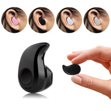 Bluetooth Earphone Headphone Mini Wireless Earpiece Cordless Hands free Blutooth Stereo in ear Auriculares Earbuds Headset Phone(China)