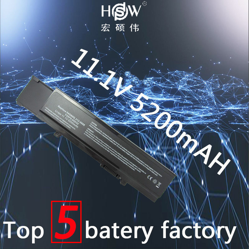 HSW rechargeable laptop battery for Dell vostro 3400 3500 3700 Y5XF9,7FJ92,04D3C,4JK6R,04GN0G,0TXWRR,CYDWV,312-0997,312-0998