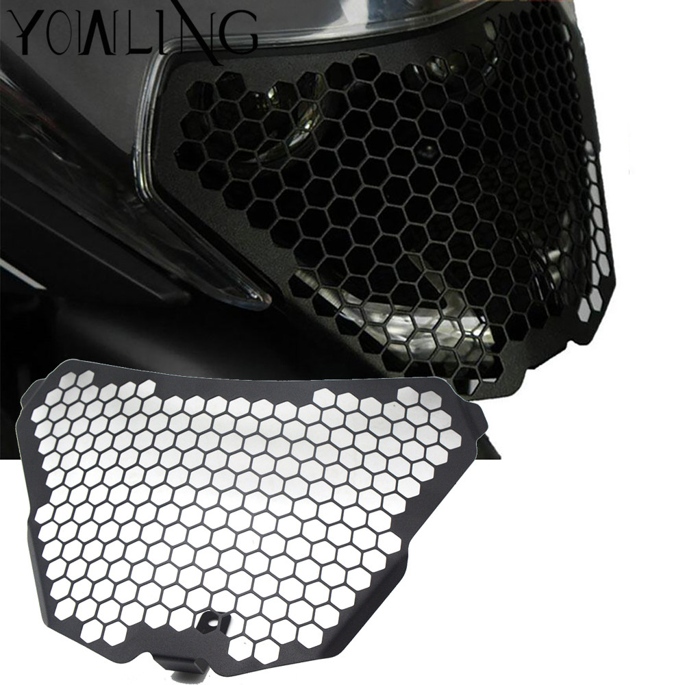 Motorcycle Accessories Headlight Bracket Grille Guard Lense Cover Protector For KTM RC125 RC200 RC390 RC 200 390 2014 2015 2016