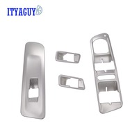 ABS Chrome Interior Door Window Switch Cover Window Switch Penal Door Window Switch Cover Trims For