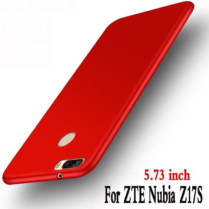 For zte nubia z17s case silicone 5.73 Luxury funda Protector mobile phone bag For zte nubia z17s z17 s case soft tpu back Cover