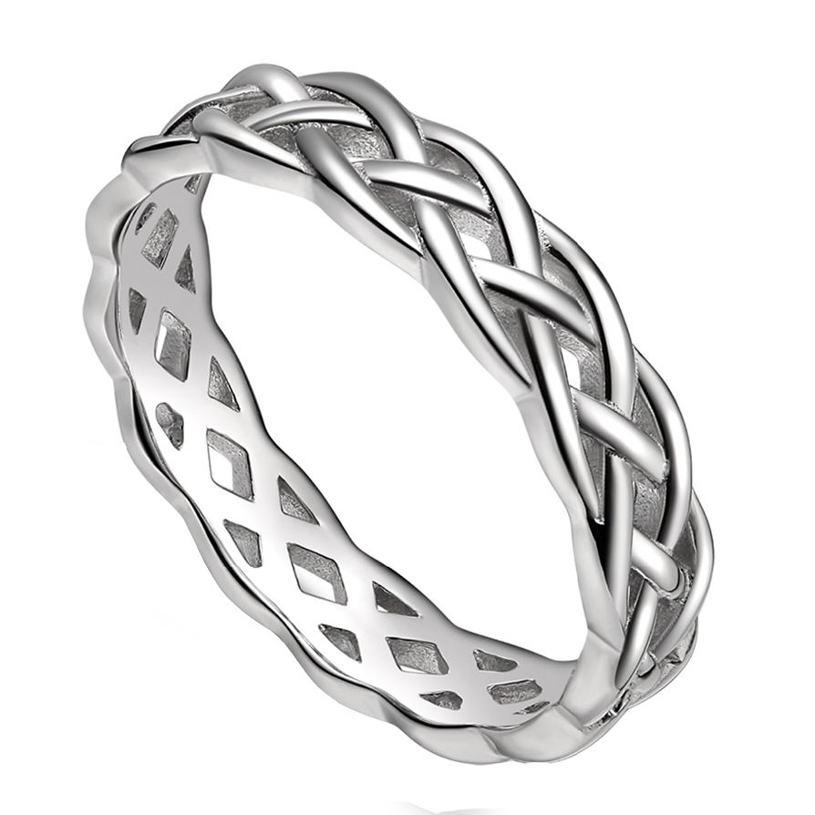 custom rings products infinity wedding celtic symbolic titanium ring trinity band made