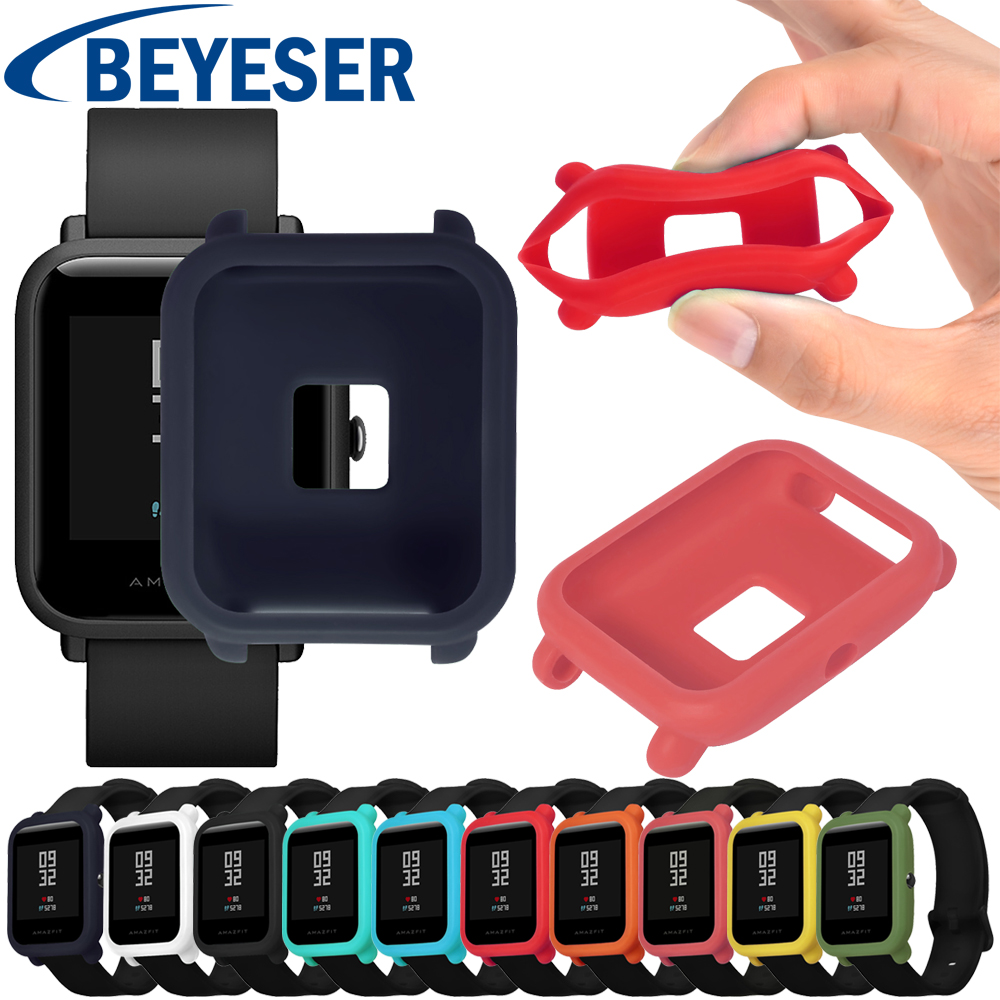 Protect Case for Xiaomi Huami Amazfit Bip Bit youth Watch Case Replace Cover Protective Shell for Amazfit Bip Silicone Cases protective case cover for xiaomi amazfit bip bit pace lite youth watch hard pc shell for huami amazfit watch accessories