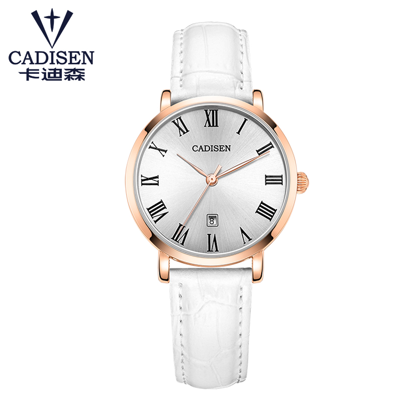 купить Luxury Brand girl Quartz Watch Rose Gold Women Watches Ladies Dress Wristwatch Reloj Mujer clock leather strap relogio feminino по цене 1630.58 рублей
