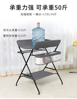 Diaper table baby newborn massage touch bathing table baby changing diaper table multi function easy folding care station