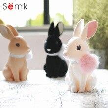 Hucha de diseño | Conejos de peluche con borla