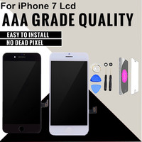 1PCS Grade AAA Display Screen With Touch Digitizer Display Assembly Replacement For IPhone 7 LCD Good