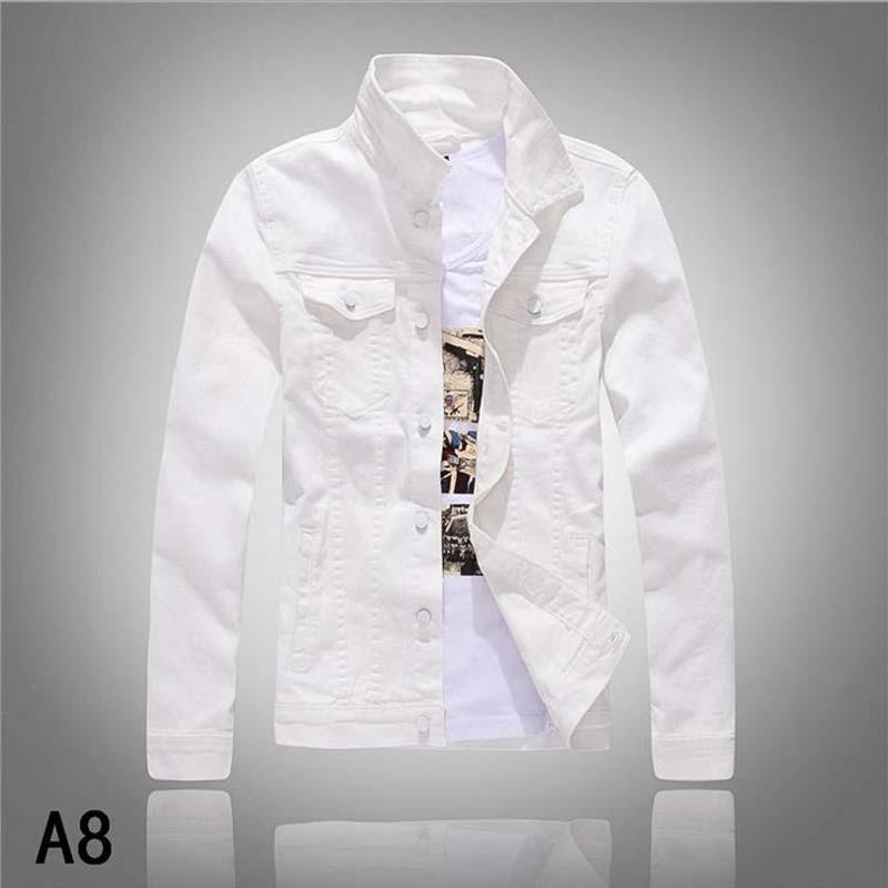 Popular White Jeans Jacket for Men-Buy Cheap White Jeans Jacket ...