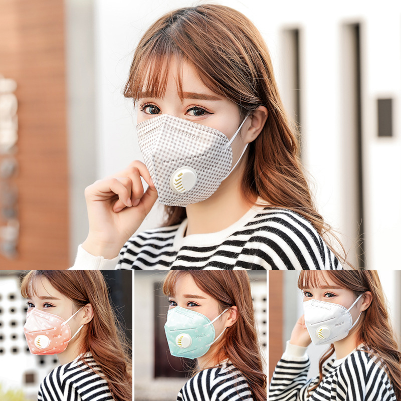 PM2.5 Anti-Fog Anti Dust Flu Face Mouth Warm Masks Healthy Air Filter Dustproof Antivirus Antibacterial Protective Mask image