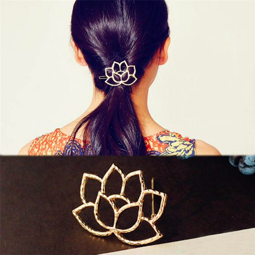 Lotus Retro Styling Hairpin Hair Clips Headdress Flower Hair Accessories hair care
