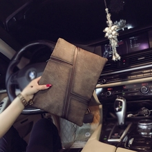 Tidog Korean men and women hand bag business IPAD clutch
